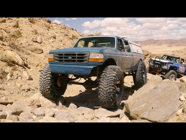 Ford F354 Monster Truck vs. Johnson Valley Rocks - Dirt Every Day Ep. 52