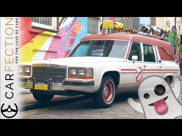 Ghostbusters ECTO-1: Spirited Drive In London - Carfection