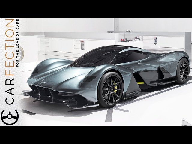 Aston Martin Valkyrie AM-RB 001: Aston Martin and Red Bull Racing Hypercar - Carfection