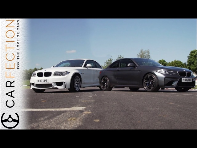 <em>BMW</em> M2 vs <em>BMW</em> 1M Coupe - Carfection