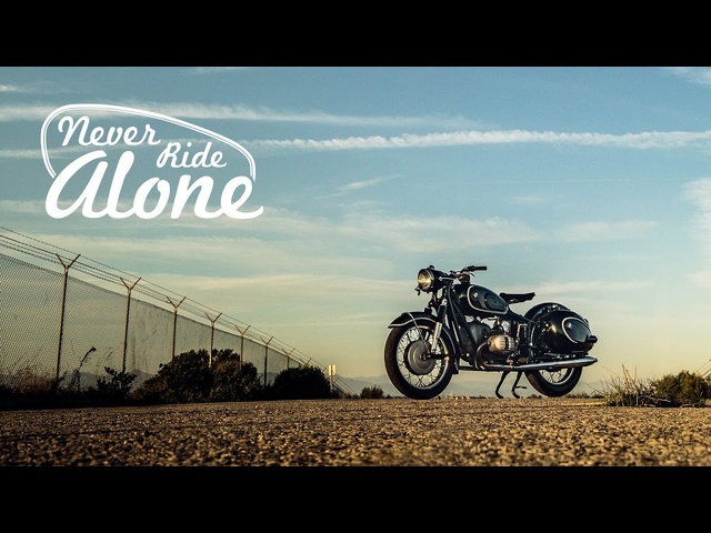 This <em>BMW</em> R60 Never Rides Alone