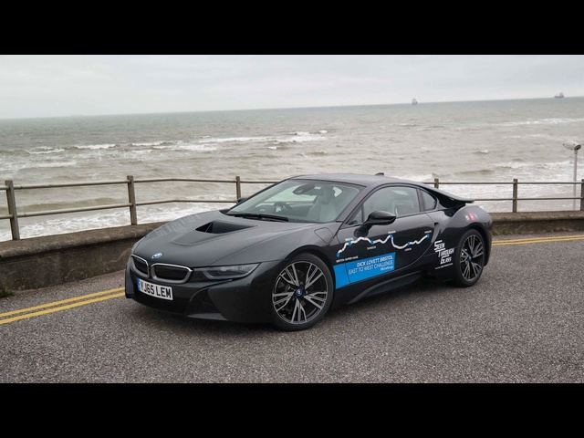 BMW i8 - Coast To Coast Challenge