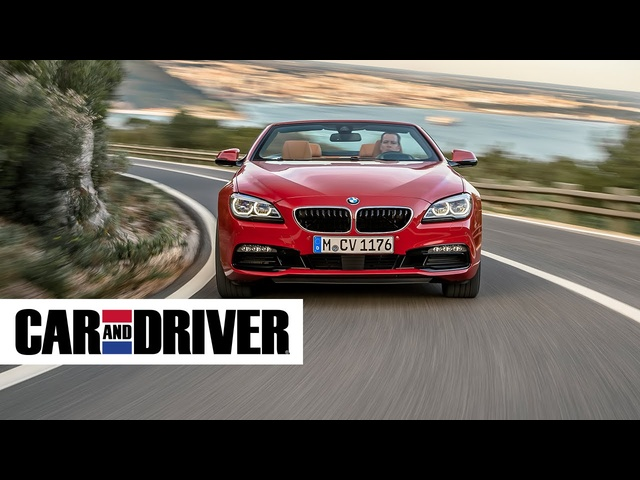 BMW 640i Convertible Review in 60 Seconds | Car and Driver