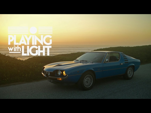 Alfa Romeo Montreal Plays With Light