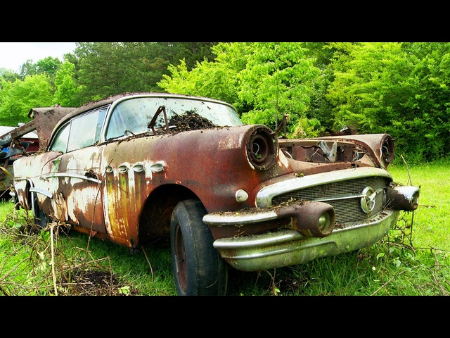 Junkyard 1956 Buick Hack! -Roadkill Ep. 53