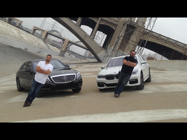 2016 <em>BMW</em> 750i vs. 2015 Mercedes-Benz S550 - Head 2 Head Ep. 79