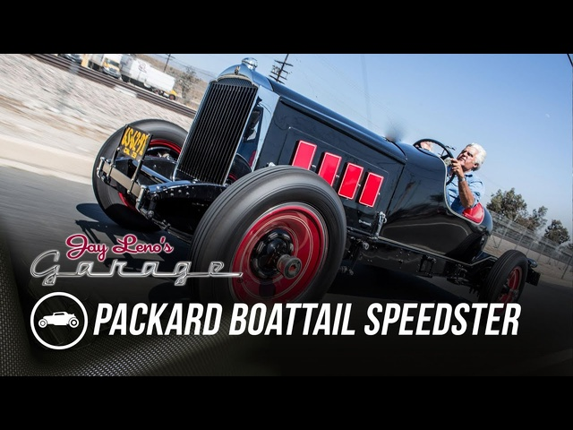 1929 Packard Boattail Speedster -Jay Leno's Garage