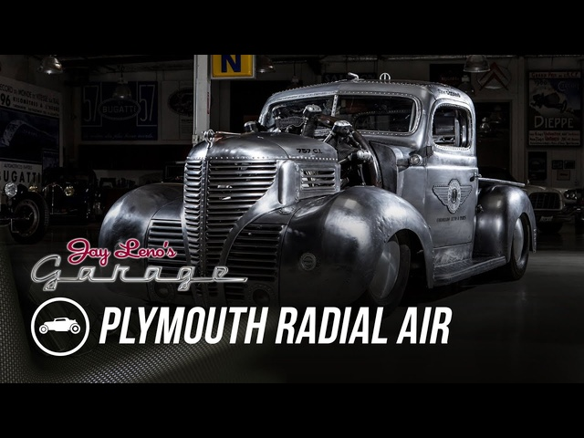 1939 <em>Plymouth</em> Radial Air - Jay Leno's Garage
