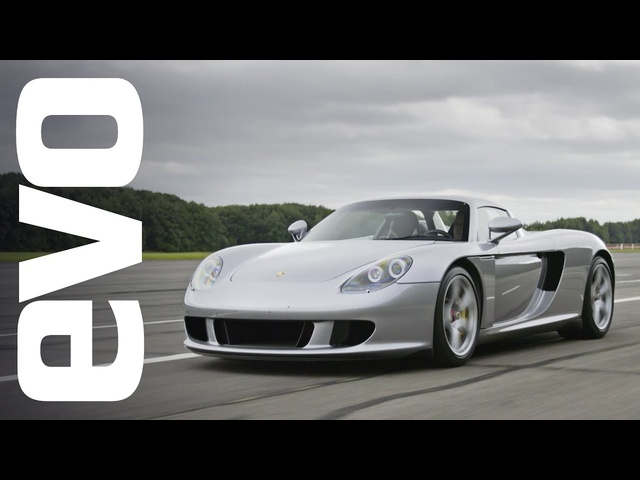 <em>Porsche</em> Carrera GT driven | evo ICONS