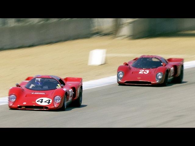 1963 -1973 FIA Manufacturers Championship Cars - Rolex Monterey Motorsports Reunion