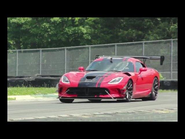 Dodge Viper ACR at Lightning Lap 2016