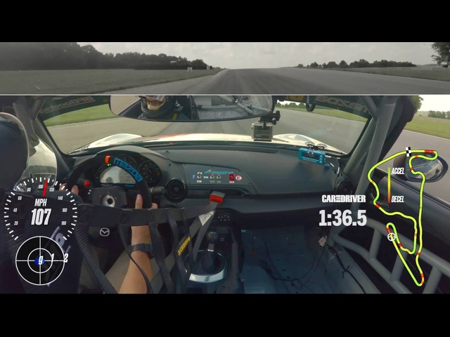 Mazda MX-5 Miata Cup Car at Lightning Lap 2016