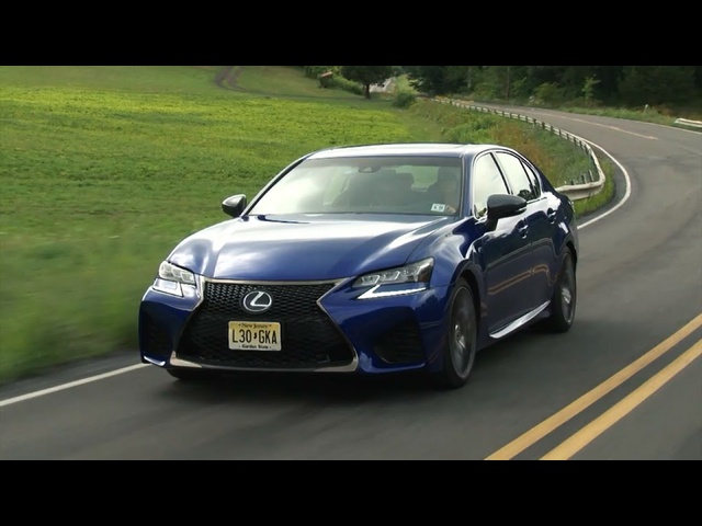 Lexus GS F 2016 Review