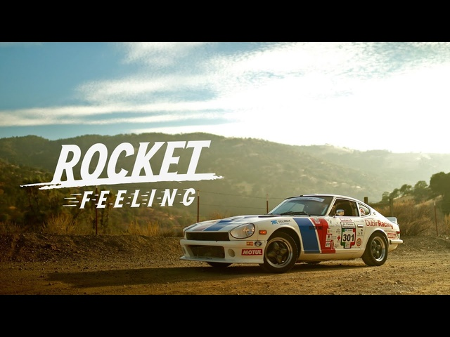 This <em>Datsun</em> 240Z Gives A Rocket Feeling