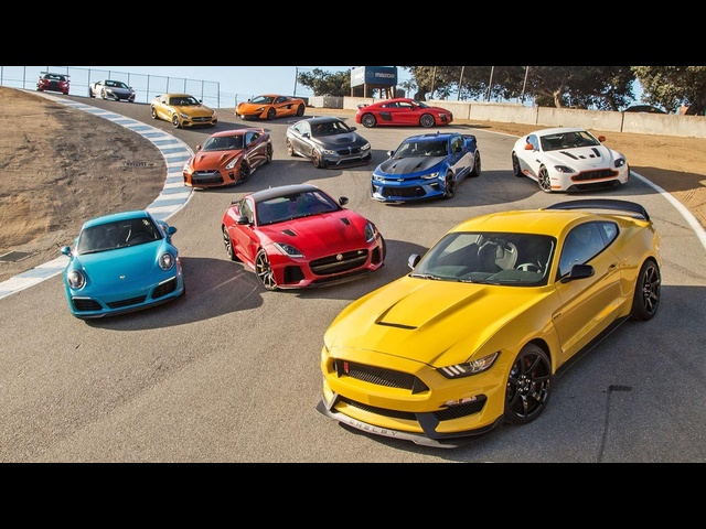 Picking the 2016 Motor Trend Best Driver's Car!