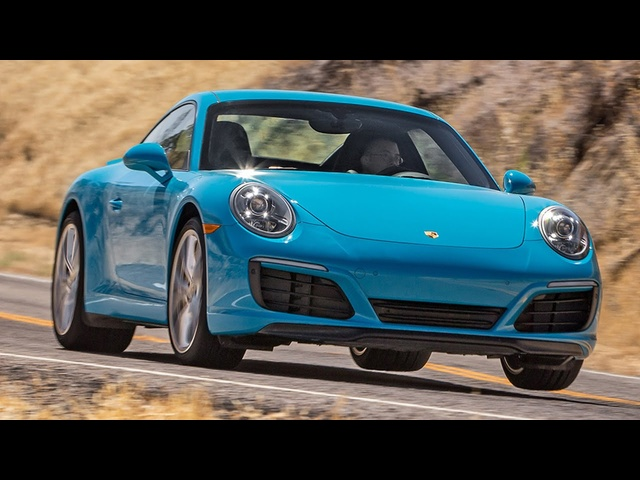 2017 <em>Porsche</em> 911 Carrera S Hot Lap! - 2016 Best Driver's Car Contender