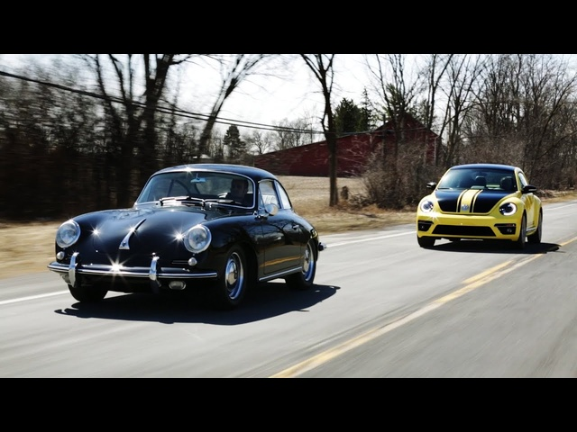 1964 Porsche 356 vs. 2014 <em>Volkswagen</em> Beetle GSR | THEN VS NOW