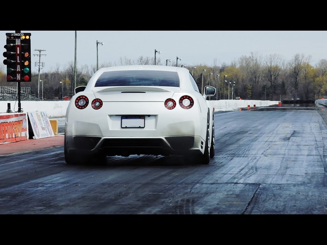 1,100-hp Nissan GT-R | AROUND THE BLOCK