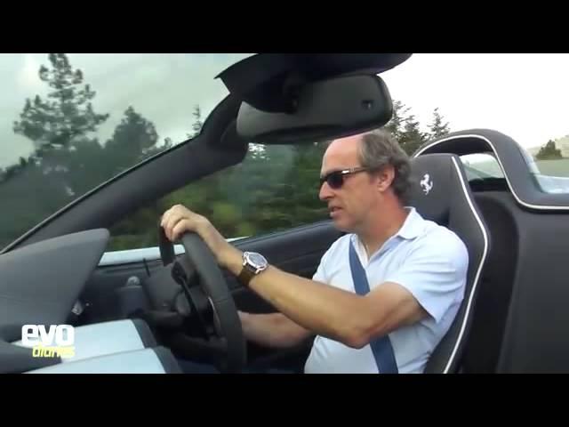 Ferrari 599 SA Aperta road trip