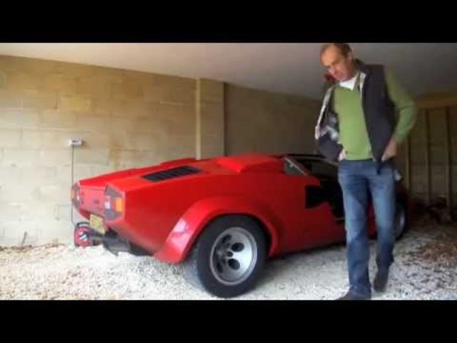 Lamborghini Countach QV 1200 mile drive back to the UK