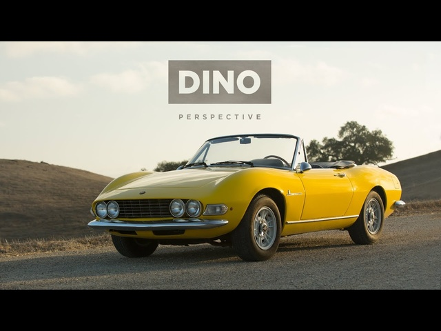 The Fiat Dino Spider Gives a New Perspective
