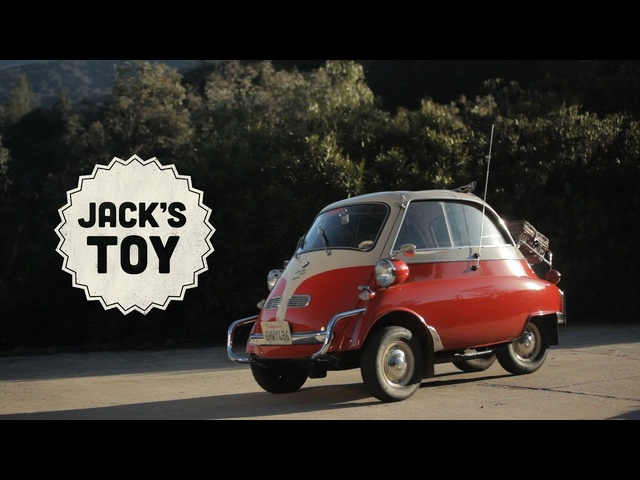 Jack's Toy Is a <em>BMW</em> Isetta