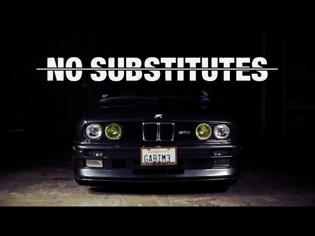 There Are No Substitutes for a <em>BMW</em> E30 M3