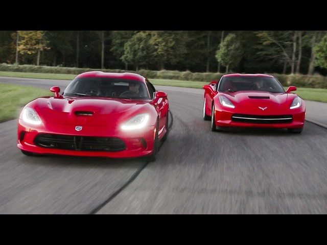 2014 SRT Viper GTS and 2014 Chevrolet Corvette Stingray | AROUND THE BLOCK