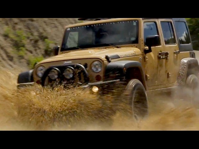 Hemi-powered AEV Jeep Wrangler | AROUND THE BLOCK