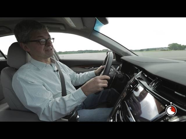 60 Seconds with the 2014 Cadillac CTS Vsport