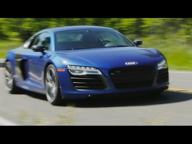 2014 Audi R8 V10 Plus | AROUND THE BLOCK