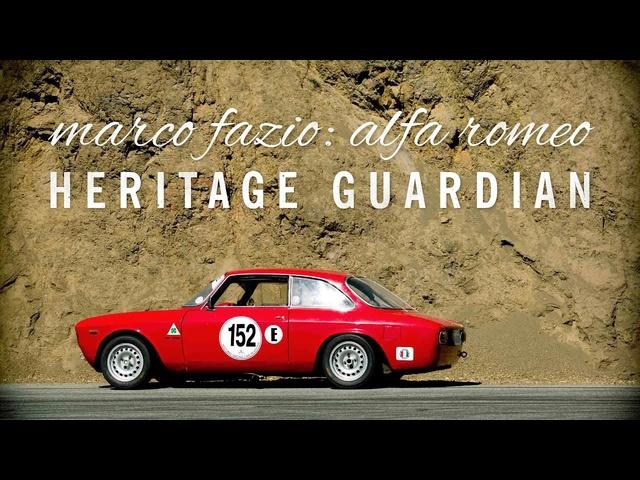 Marco Fazio: Alfa Romeo Heritage Guardian - Petrolicious