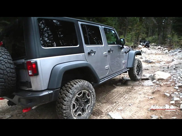 2013 <em>Jeep</em> Wrangler Rubicon 10th Anniversary Edition on the Rubicon Trail