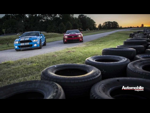 2013 Ford Shelby GT500 vs 2012 Chevrolet Camaro ZL1