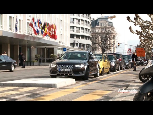 <em>Audi</em> Allroad: Geneva to Munich