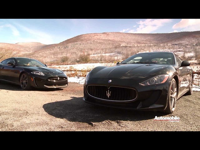 Peak Performers: 2012 Jaguar XKR-S and 2012 Maserati GranTurismo MC