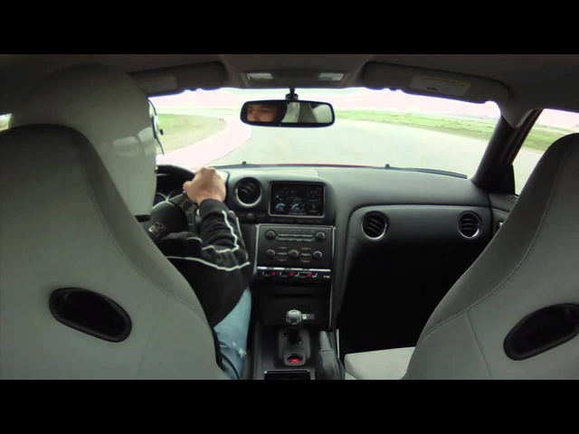 2012 Nissan GT-R Lapping Buttonwillow race track