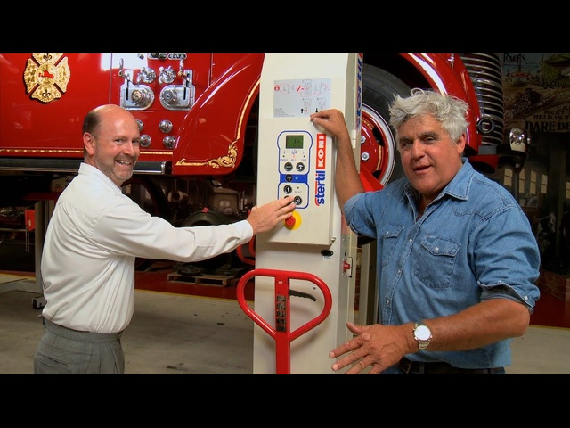 Mobile Column Lifts - Jay Leno's Garage