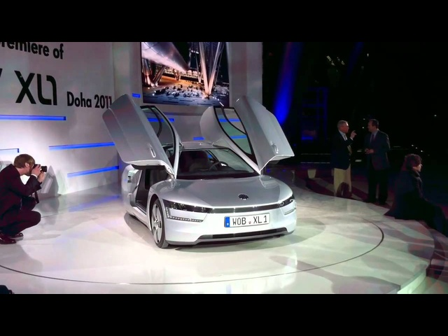 Volkswagen XL1 Concept On The Stand