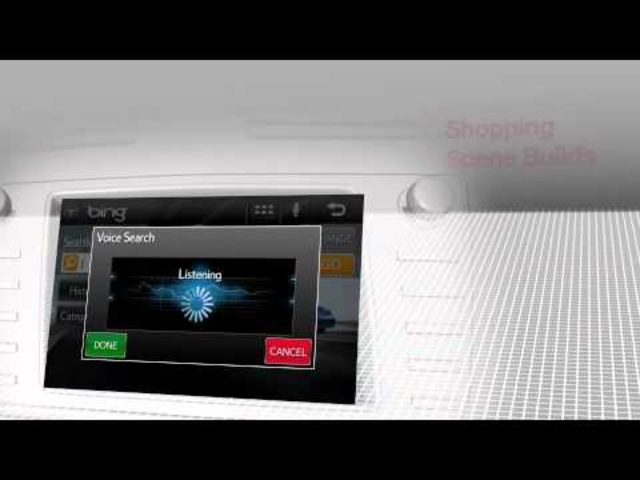 Toyota Unveils Entune Multimedia System at CES