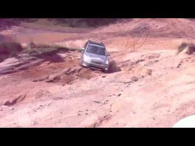 <em>Subaru</em> Outback Gets Stuck
