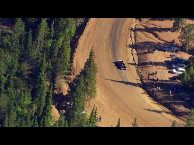 Up the Mountain: Rhys Millen attacks Pikes Peak
