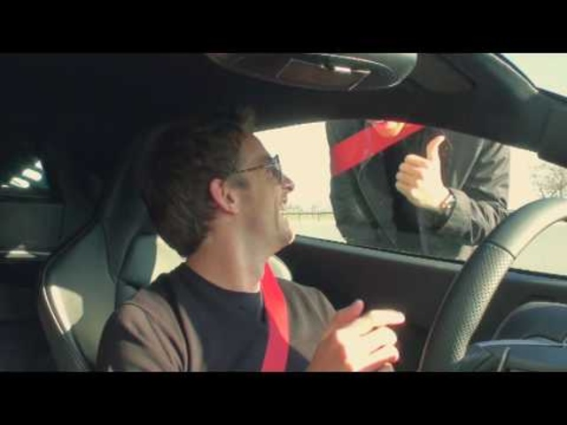 McLaren MP4-12C test with Lewis Hamilton and Jenson Button