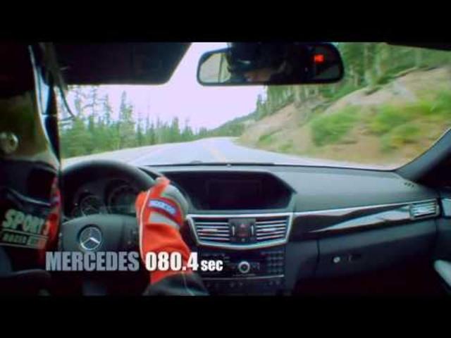 6 versus 8 | Mercedes E550