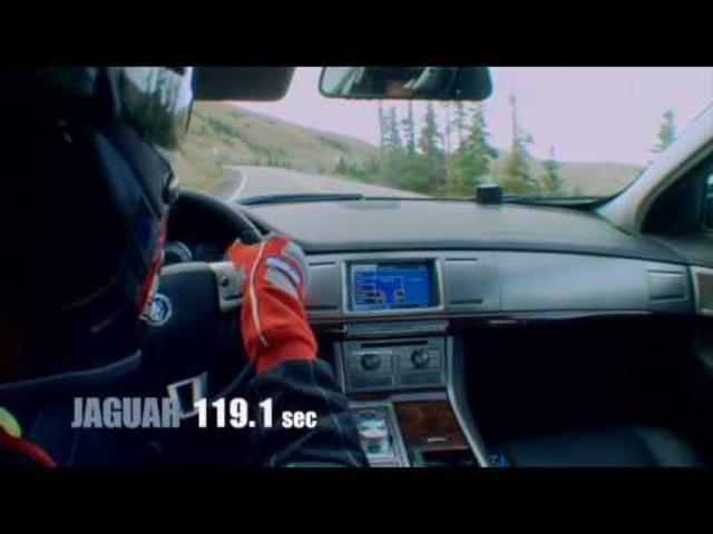 6 versus 8 | Jaguar XF
