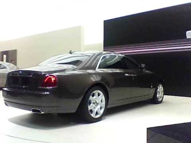 Rolls-Royce Ghost at 2009 Frankfurt Auto Show