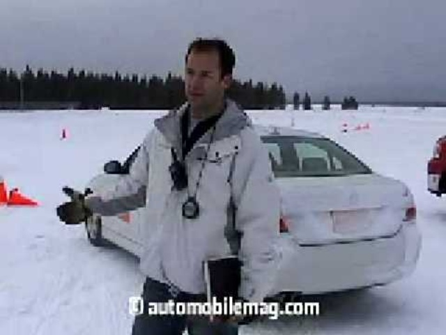 Continental Arctic Blast III Winter Driving Test