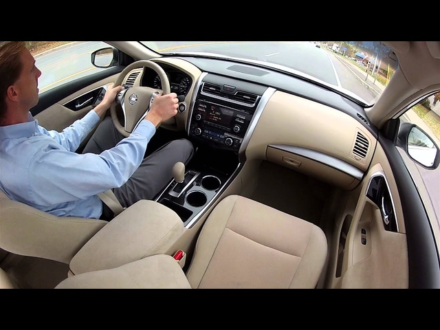 2013 Nissan Altima - Drive Time Review with Steve Hammes | TestDriveNow