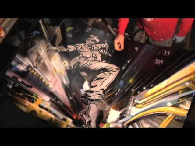 Lee Quinones and the 2009 Ford Flex Art Car Part 4