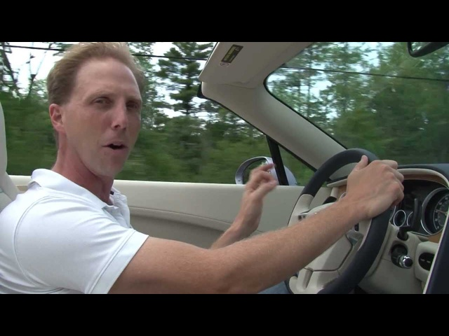 2012 <em>Bentley</em> Continental GTC - Drive Time Review with Steve Hammes | TestDriveNow